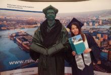 RSM碩士畢業照